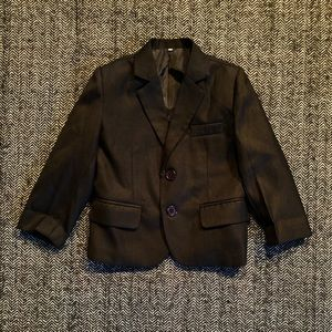 Black blazer in like new condition size 18m